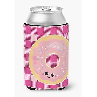 Carolines Treasures  BB7048CC Donut Face Can or Bottle Hugger