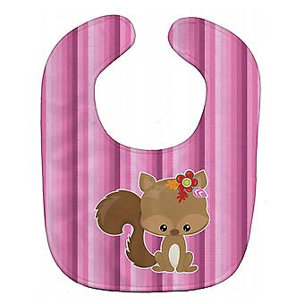 Carolines Treasures  BB6793BIB Squirrel Baby Bib