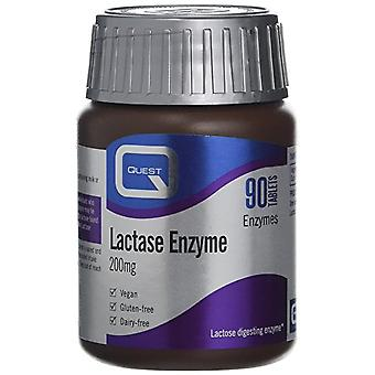 Quest Lactase 200mg, 90 tablets