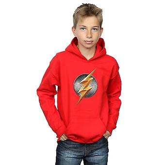 DC Comics pojkar Justice League film Flash Emblem Hoodie