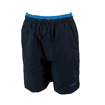 Mittelerweile Junior Boys Sandstein Swim Shorts Navy/Blau für Kinder 6-15 Jahren