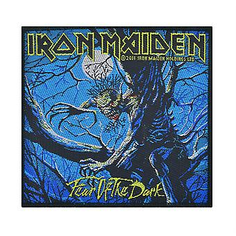 Iron Maiden Fear Of The Dark - Blue - Patch gewebt