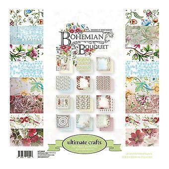 Ultimate Crafts Double-Sided Paper Pad 12