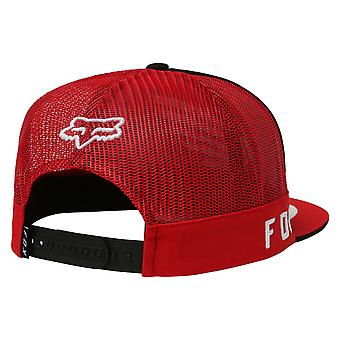 Fox Honda Snapback Cap - Black / Red