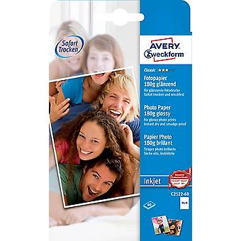 Photo paper Avery-Zweckform Classic Photo Paper Inkjet C2522-60