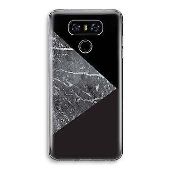 LG G6 Transparent Case - Marble combination