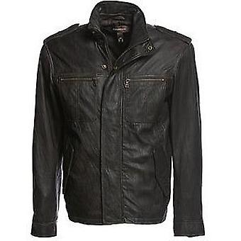Canton Mens Leather Jacket