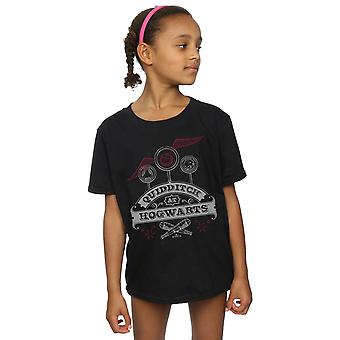 Harry Potter Girls Quidditch At Hogwarts T-Shirt