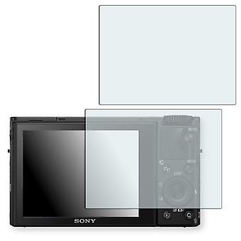 Sony Cyber-shot DSC-RX100 IV display protector - Golebo crystal clear protection film