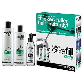 Redken Pack Cerafill Defy  (Hair care , Treatments , Packs , Shampoos)