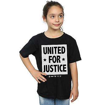 DC Comics Girls Justice League United For Justice T-Shirt