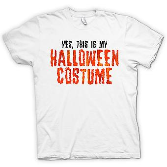 Kids T-shirt - Yes This Is My Halloween Costume
