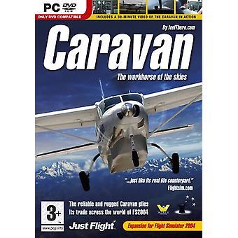 Caravane le cheval de bataille du ciel (PC DVD)