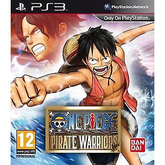 Één stuk piraat Warriors (PS3)