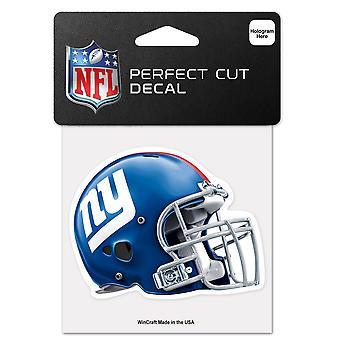Wincraft casco adhesivo 10x10cm - NFL gigantes de Nueva York