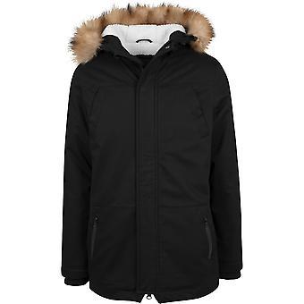 Urban Classics Jacke Parka Heavy Cotton Imitation Fur