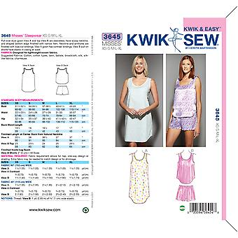 Sleepwear-XS-S-M-L-XL -*SEWING PATTERN*