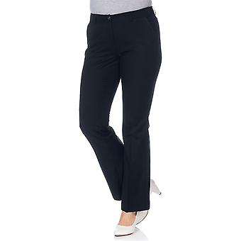 sheego business suit trousers large size for Navy