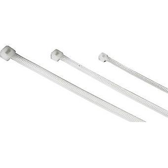 Hama Cable tie Plastic Ecru Flexible