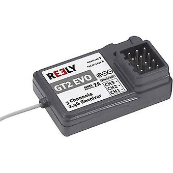 3-channel receiver Reely GT2 EVO 2,4 GHz Connector system JR