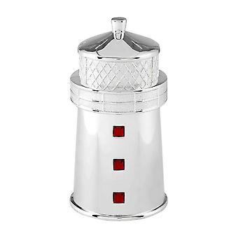 Orton West Lighthouse Money Box - Silver