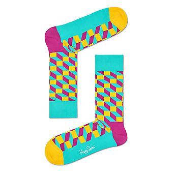Happy Socks gefüllt faseroptische Socken - Grün