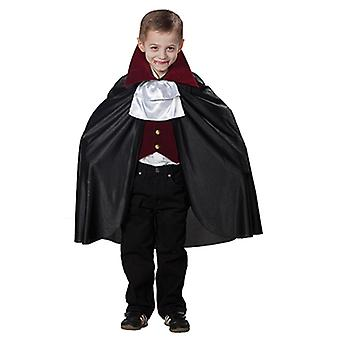 Dracula vampire costume for kids 3-piece deluxe