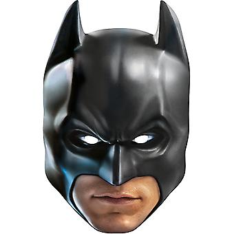 Batman card mask mask made of cardboard for adults