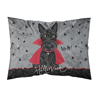Halloween Vampire Scottie Fabric Standard Pillowcase