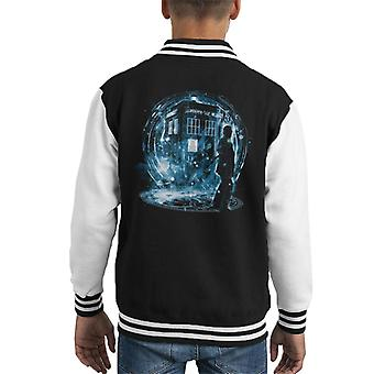 Doctor Who 9th Doctor Kid's Varsity Jacket
