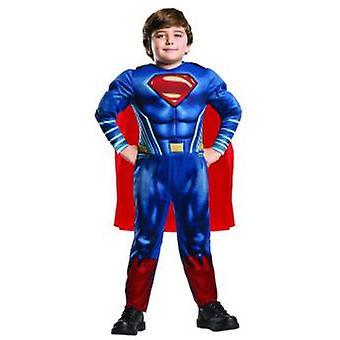 Superman Justice League Deluxe costume-kids superhero Carnival