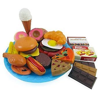 Playset de comida 30 piezas