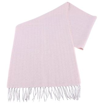 Bassin and Brown Arethusa Self Lined Wool Scarf  - Pink