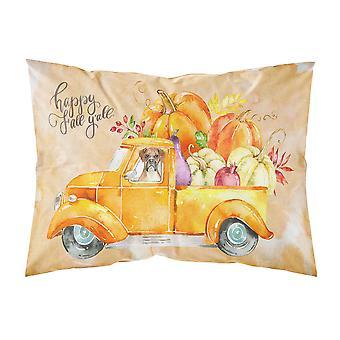 Fall Harvest Boxer Fabric Standard Pillowcase