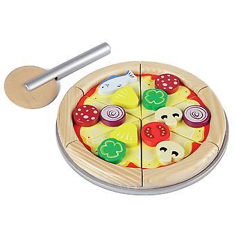 Tidlo Holz Spiel essen Pizza Set Küche Rollenspiel-Zubehör