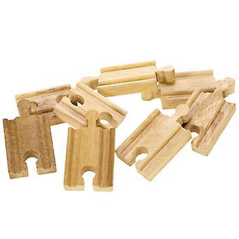 En bois Rails-Mini, 8 pcs.