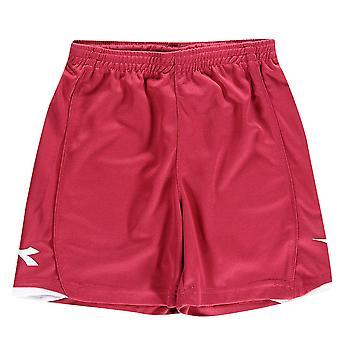 Diadora Kids Boys Kingston Football Shorts Junior Lightweight Pants Bottoms