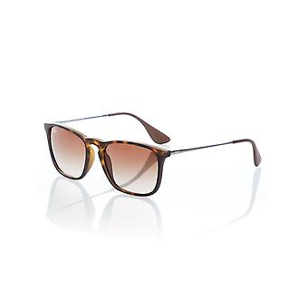 Ray-Ban Rubber Havana Brown Gradient Chris - 54mm Sonnenbrillen