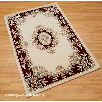 Royal Ivory Red Rug