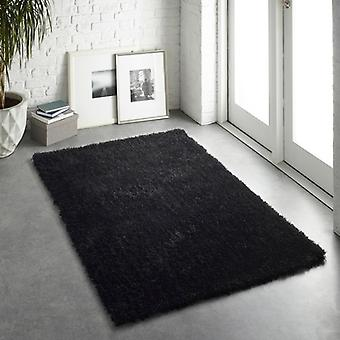 Chicago Black  Rectangle Rugs Plain/Nearly Plain Rugs