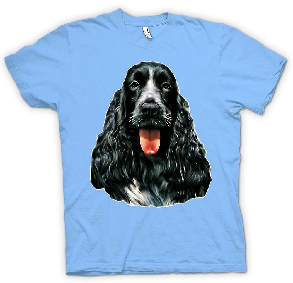 Mens t-shirt-Cocker Spaniel - animali - cane