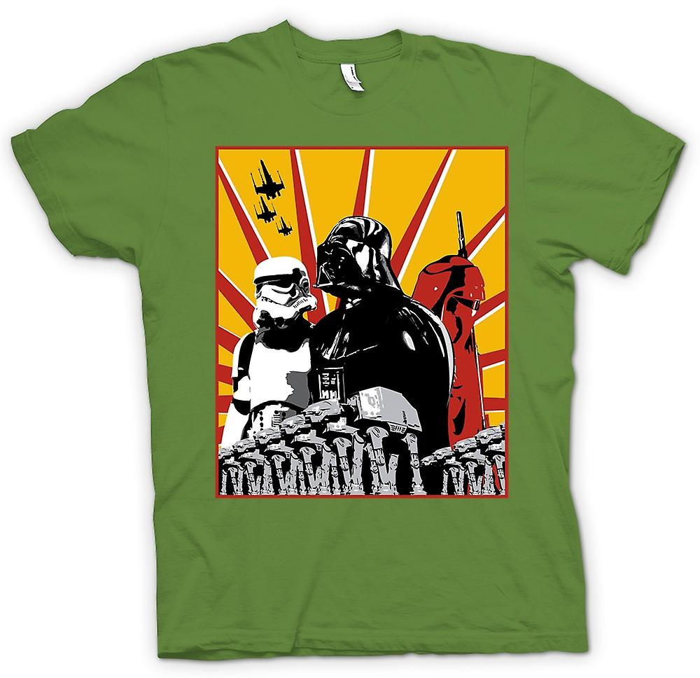 Mens t-shirt - Star Wars - Darth Vader & tempesta Tropper