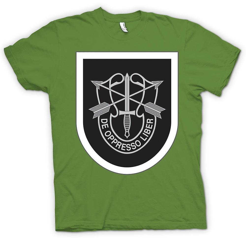 Heren T-shirt - US Special Forces - De Oppresso Liber
