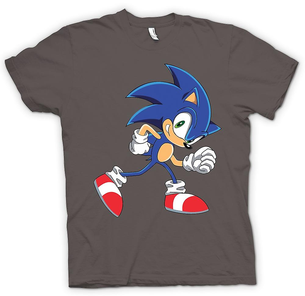 Womens T-shirt - Run Sonic Run - Sonic The Hegehog
