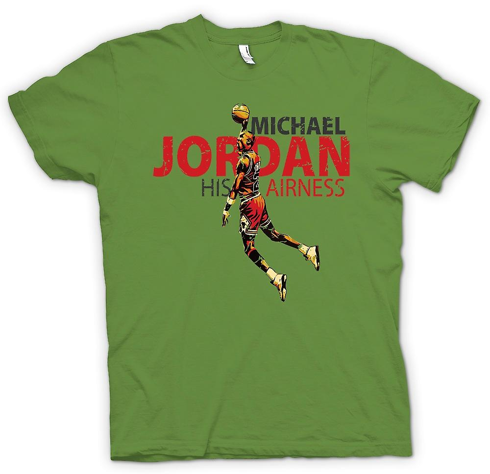 Herr T-shirt - Michael Jordon - hans Airness