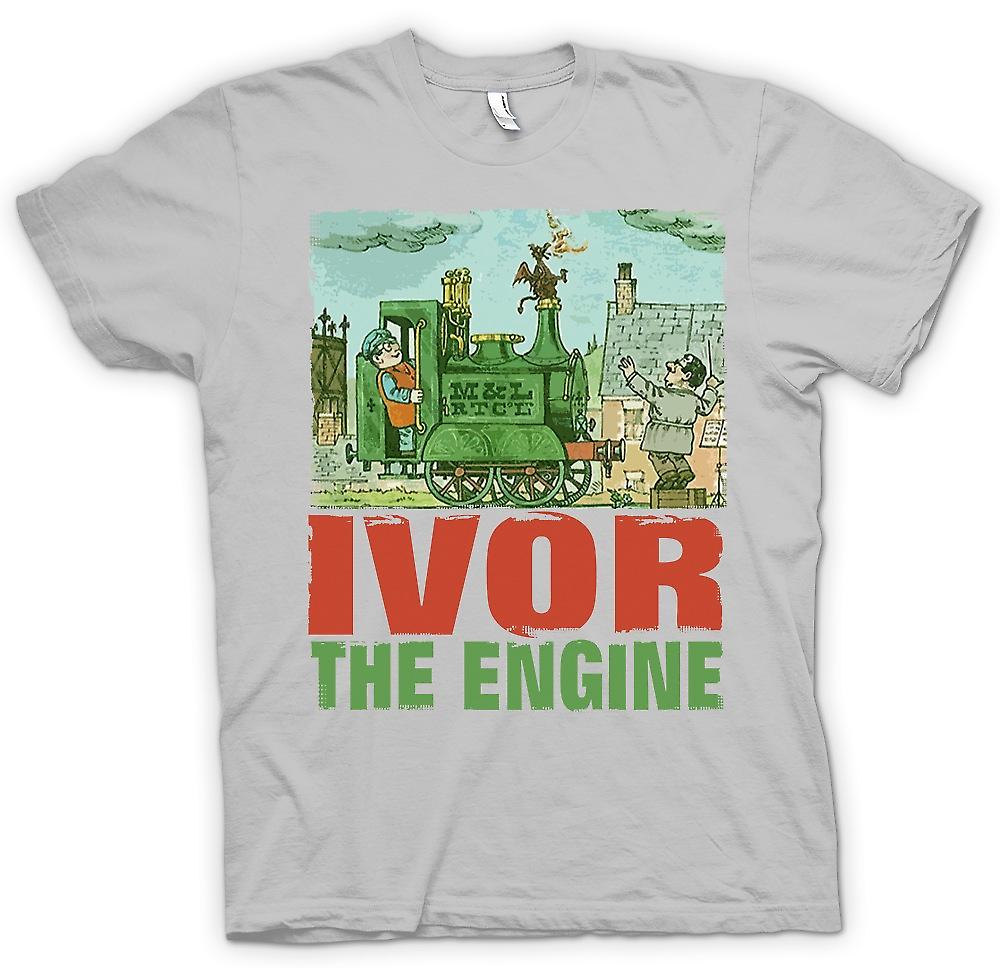 Dai y Mens t-shirt - Ivor el motor - Jones