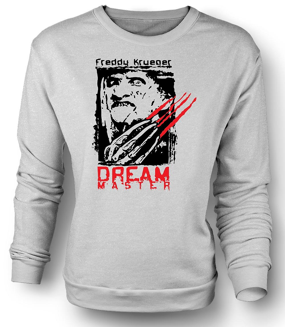 Mens-Sweatshirt-Freddy Krueger Dream Master - Horror