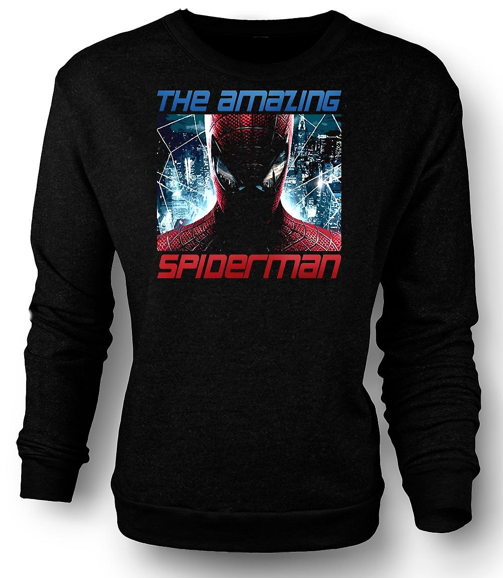 Mens Sweatshirt The Amazing Spiderman