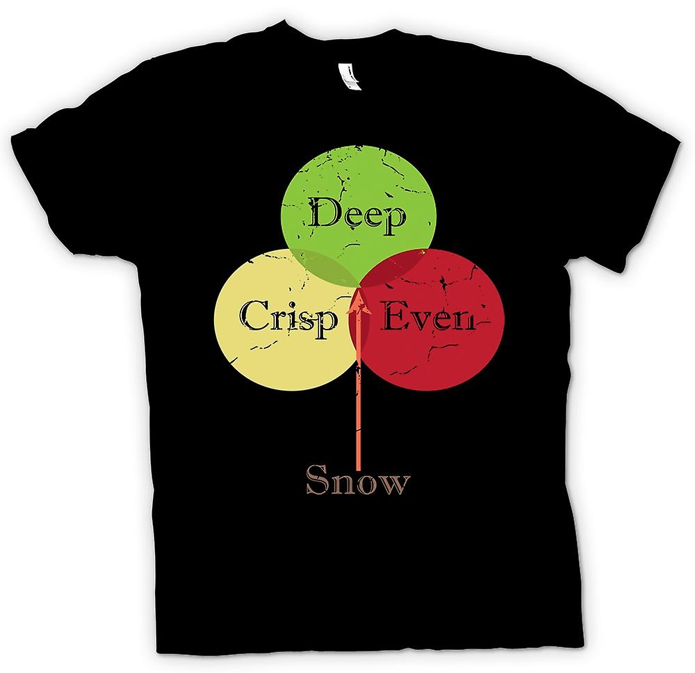 Kids T-shirt - Deep Crisp Even Snow - Funny