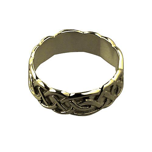 9ct Guld 6mm damer Celtic Vigselring